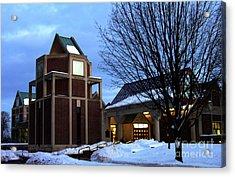 Harry C Trexler Library - Muhlenberg College Acrylic Print by Jacqueline M Lewis