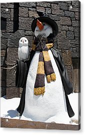 Harry Christmas Acrylic Print