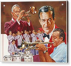 Harry James Trumpet Giant Acrylic Print