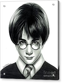 Harry Potter And The Philosopher's Stone Acrylic Print by Crystal Rosene