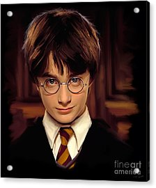 Harry Potter Acrylic Print by Paul Tagliamonte