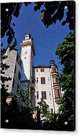 Hartenfels Castle - Torgau Germany Acrylic Print