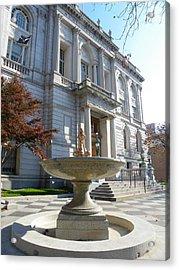 Hartford Historical Building Acrylic Print