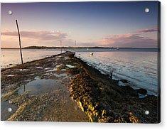 Harty Ferry Acrylic Print by Ian Hufton