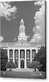 Baker Bloomberg At Harvard University Acrylic Print by University Icons
