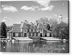 Weld Boat House At Harvard University Acrylic Print by University Icons
