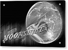 Harvest Moon - Moonshine 2 Acrylic Print by Steve Ohlsen