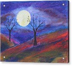 Harvest Moon 3 Acrylic Print