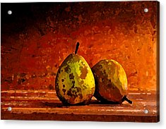 Harvest Pairs Acrylic Print by Cole Black