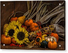 Harvest Season Acrylic Print