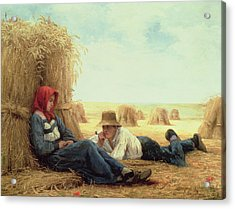 Harvest Time Acrylic Print by Julien Dupre