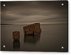 Harvey's Remains Acrylic Print by Michael Murphy