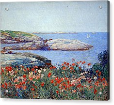 Hassam's Poppies On The Isles Of Shoals Acrylic Print