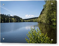 Hasselvorsperre Acrylic Print by Andreas Levi