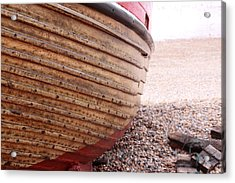 Hastings Clinkerboats Detail Acrylic Print