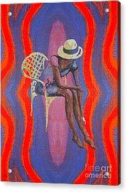 Hat 2 Acrylic Print by Patrick J Murphy