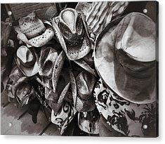 Hat Check Acrylic Print