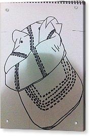 Hat Drawing Acrylic Print by Khoa Luu