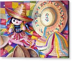 Hat Party IIi Acrylic Print