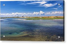 Hatches Harbor Acrylic Print by Bill Wakeley