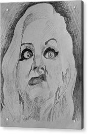 Hatchet Face Acrylic Print by Jeremy Moore