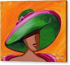 Hats For A Princess 2 Acrylic Print by Gail Finn