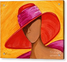 Hats For A Princess Acrylic Print by Gail Finn