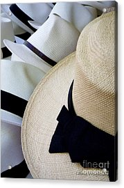 Hats Off To You Acrylic Print by Lainie Wrightson