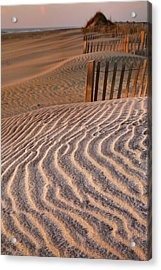 Hatteras Dunes Acrylic Print by Steven Ainsworth