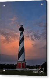 Hatteras Lighthouse Dawn Acrylic Print