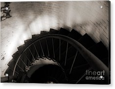 Acrylic Print featuring the photograph Hatteras Staircase by Angela DeFrias