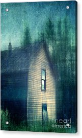 Haunted By The Past Acrylic Print by Priska Wettstein