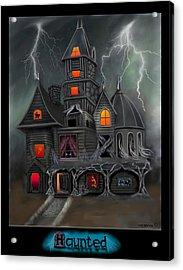 Haunted Acrylic Print by Glenn Holbrook