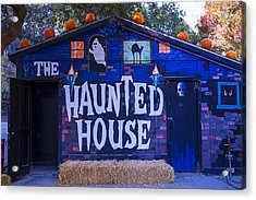 Haunted House Acrylic Print by Garry Gay