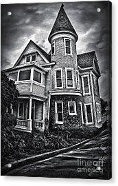 Haunted House Acrylic Print by Gregory Dyer