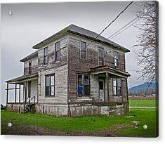 Haunted House Of Skagit County Acrylic Print by Kent Sorensen