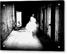 Acrylic Print featuring the photograph Haunted by Jim Poulos