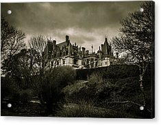 Haunted Acrylic Print by Jose Torres