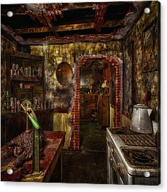 Haunted Kitchen Acrylic Print