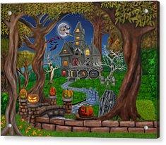 Haunted Mansion Acrylic Print by Glenn Holbrook