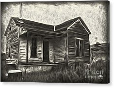 Haunted Shack - 02 Acrylic Print by Gregory Dyer