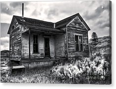 Haunted Shack Acrylic Print by Gregory Dyer