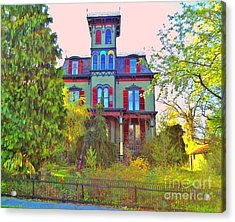 Acrylic Print featuring the photograph Hauntingly Victorian  by Becky Lupe