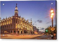 Havana, Cuba, The National Theater Acrylic Print