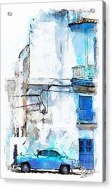 Havana Street Acrylic Print