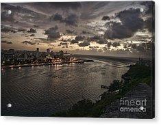 Havana Sunset Acrylic Print