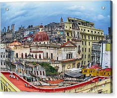 Havana Urban Expression Acrylic Print