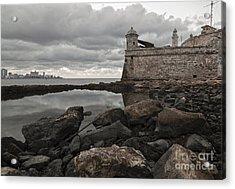Havana Winter Acrylic Print