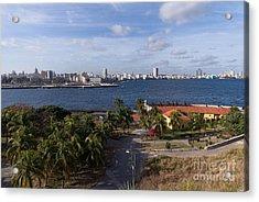 Acrylic Print featuring the photograph Havanna Skyline by Juergen Klust