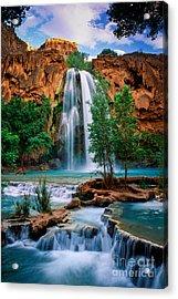 Havasu Cascades Acrylic Print